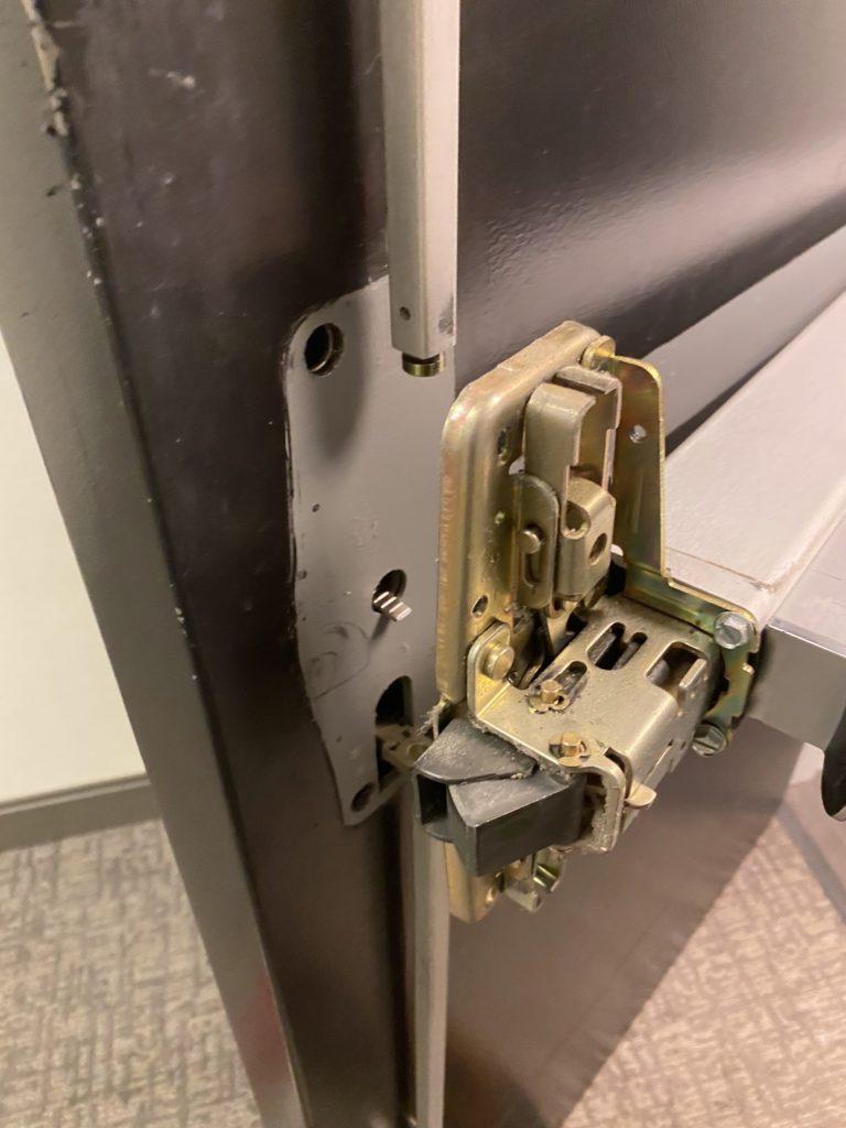 Von Duprin 9857 Case Mechanism Removed